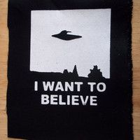 I want to Believe medium patch (X-files)