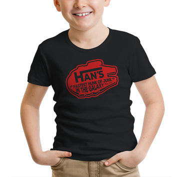 "Star Wars ""Han's Fastest Hunk of Junk"" Boys' T-Shirt"