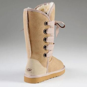 UGG Bow Tie Shoes Warm Shoes Half Boots Shoes