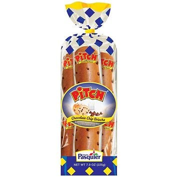 Brioche Pasquier 6 Chocolate Chip Pitch 7.9 oz. (225g)