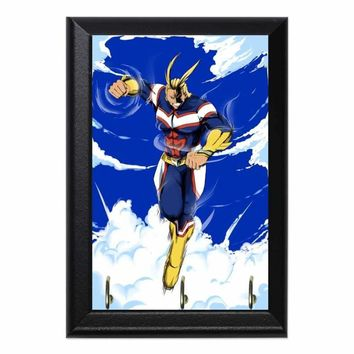 All Might Decorative Wall Plaque Key Holder Hanger