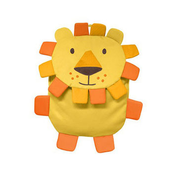 Green Sprouts Safari Backpack Yellow Lion