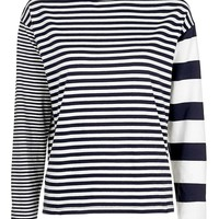 PETITE Mixed Stripe Top - Topshop