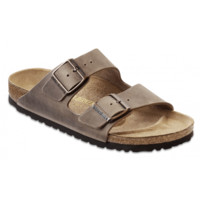 Birkenstock Classic, Arizona, Regular Fit, Natural Leather, Tobacco Brown