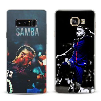 Neymar JR PSG Coque Cover Shell For Samsung Galaxy S4 S5 S6 S7 Edge S8 S9 Plus Note 8 2 3 4 5 A5 A7 J5 2016 J7 2017 Phone Case