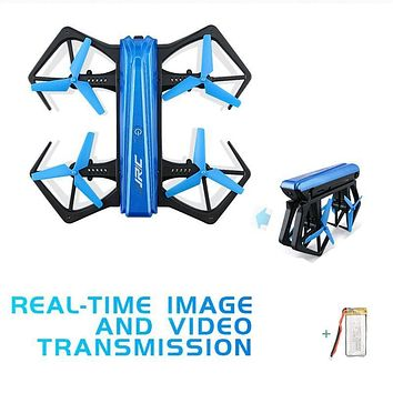 Jjrc H43wh Selfie Drones With Camera Aerial Photography Foldable Drone 720p Rc Drone Children Remote Control Toy Rc Helicopter