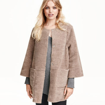 Reversible Pile Coat - from H&M