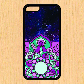 Mandala in Space V1 PC SEC1 Print Design Art iPhone 4 / 4s / 5 / 5s / 5c /6 / 6s /6+ Apple Samsung Galaxy S3 / S4 / S5 / S6