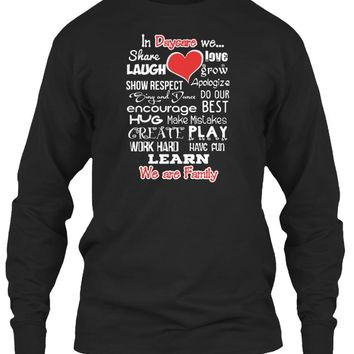 Daycare WE ARE FAMILY T shirt