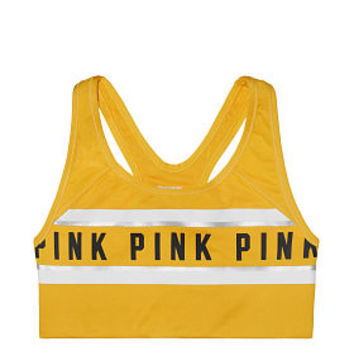 Ultimate Gym Racerback Sports Bra - PINK - Victoria's Secret