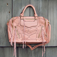 Wild Honey Tote in Peach