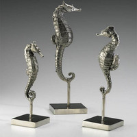 Cyan Design Seahorses On Stand, Set/3 - 01865