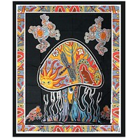 Toads & Shrooms Tapestry - CannaDecor