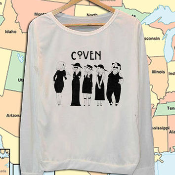 Horror Story Coven crew neck sweatshirt pullover long sleeved
