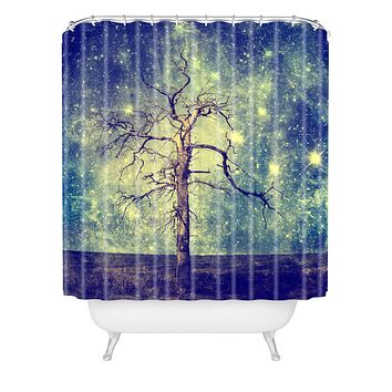 Belle13 As Old As Time Shower Curtain