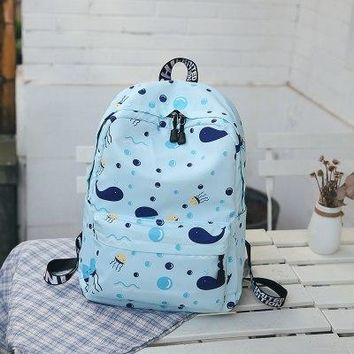 University College Backpack New Arrive 5 Color Animal Cat Prints Women s  Students School Bags Teenage Daily Laptop Rucksack For TravelAT_63_4
