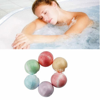 40g Rose/Lavender/Cherry Bath Bomb Body Scrub skin face Whitening Moisture Bath Fizzer