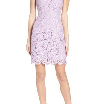 BB Dakota 'Cara' High Neck Lace Dress | Nordstrom