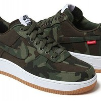 SUPREME X NIKE AIR FORCE 1 AF1 box logo camo bruin cdg blazer ofwgkta shoes camo