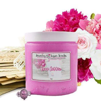 Love Letter Jewelry Sugar Scrub