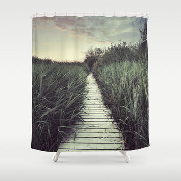 """My way..."" Shower Curtain by Guido Montañés"