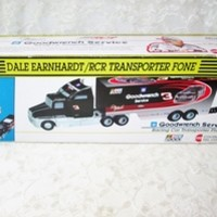 Dale Earnhardt RCR Transporter Fone NASCAR Collectible Novelty Phone Goodwrench