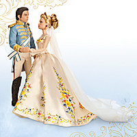 Cinderella and The Prince Disney Film Collection Doll Set - Live Action Film - 11''