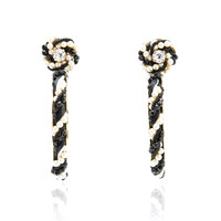 Riri Black Earrings | Moda Operandi