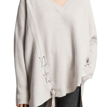 ALLSAINTS Able Laced Sweater | Nordstrom
