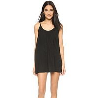 9 Seed St. Barts Cover Up Dress Black