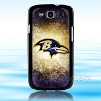 Baltimore Ravens NFL Logo Samsung Galaxy S3 Case Cover