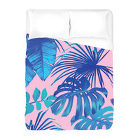 Miami Palms Duvet Cover