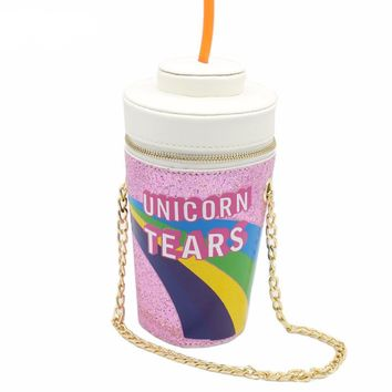 Unicorn Tears Novelty Handbag