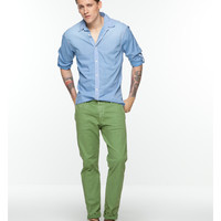 slim fit chino with turn-up - Scotch & Soda
