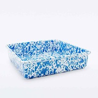 Enamel Splatter Brownie Baking Tin - Urban Outfitters