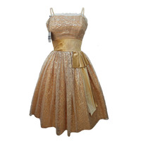 1950's Vintage Prom Dress By Blanes