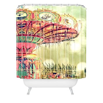 Shannon Clark Carnival Dreams Shower Curtain