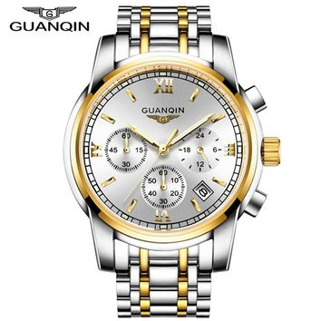 relogio masculino GUANQIN Mens Watches Top Brand