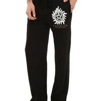 Supernatural Anti-Possession Symbol Guys Pajama Pants