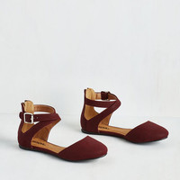 Urban Such a Flaunting Task Flat by ModCloth