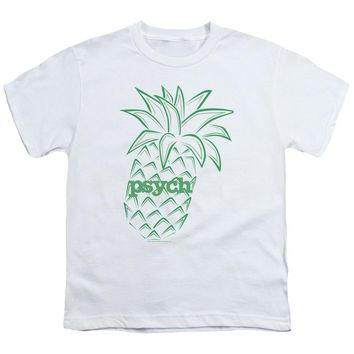 Psych - Pineapple Short Sleeve Youth 18/1