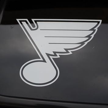 For St Louis Blues Vinyl Sticker Decal (276) NHL Hockey Choose Color & Size!! Car Styling