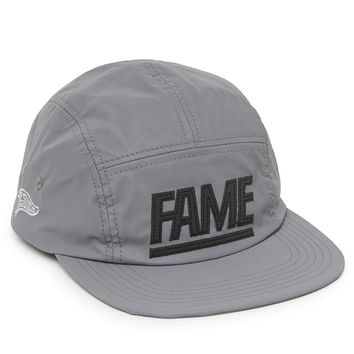 Hall of Fame 3M Block Camper 5 Panel Hat - Mens Backpack - Silver - One
