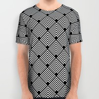 pattern All Over Print Shirt by Haroulita