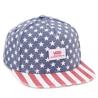 Vans Stars & Checkers Strapback Hat - Mens Backpack - Red/White/Blue - One