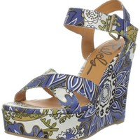 Rebels Women's Katmandu-S Wedge Sandal