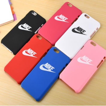 Nike Case Fashion Printed Iphone 7 7plus  6 6s Plus   5 5s Cover Case d57dc557d