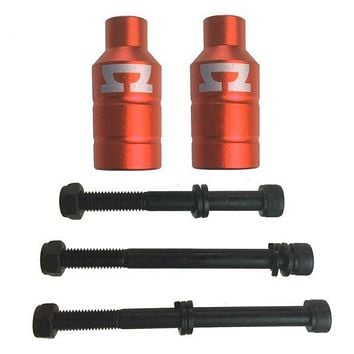 AO peg kit (incl. 3 M8 axle bolts) red