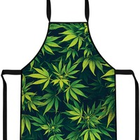 Weed Cooking Apron