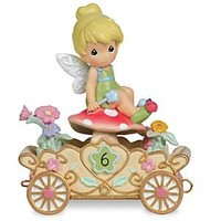 ''Have a Fairy Happy Birthday'' Sixth Birthday Tinker Bell Figurine by Precious Moments   Disney Store